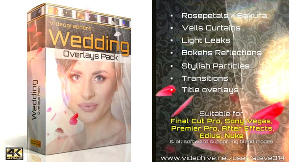Wedding Overlays Pack