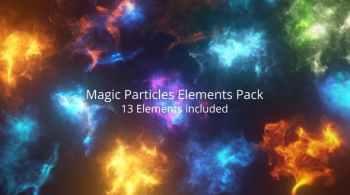 Magic Particles Elements Pack
