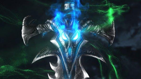 Fantasy Sword Logo Reveal