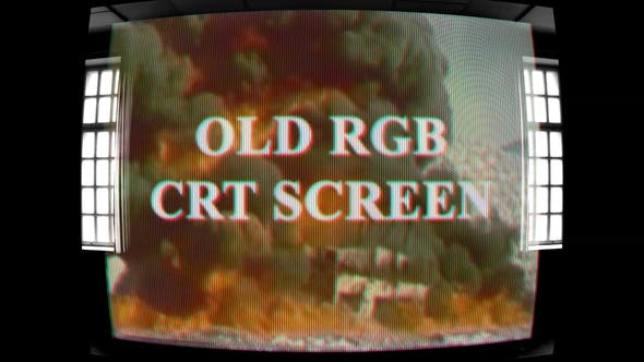 Old RGB CRT