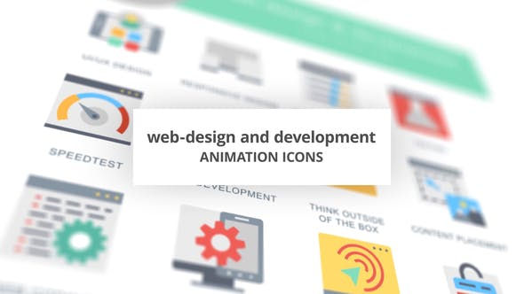 Web-Design and Development – Animation Icons