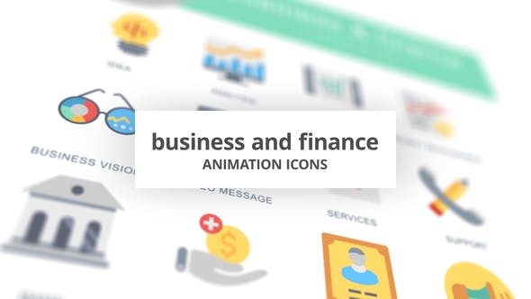 Business and Finance – Animation Icons