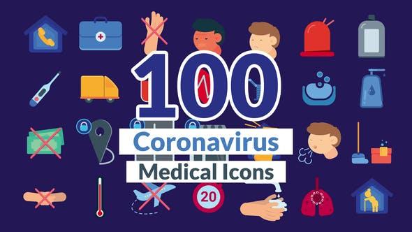 Corona Virus Icons