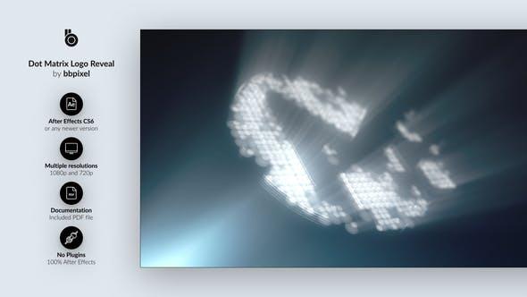 Dot Matrix Logo Reveal