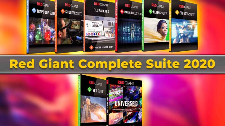 Red Giant Complete Suite 2020 for Adobe
