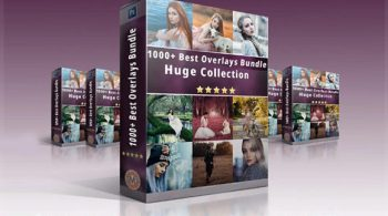 1000+ Professional Photo Overlays Bundle