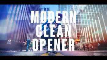 Modern Clean Opener