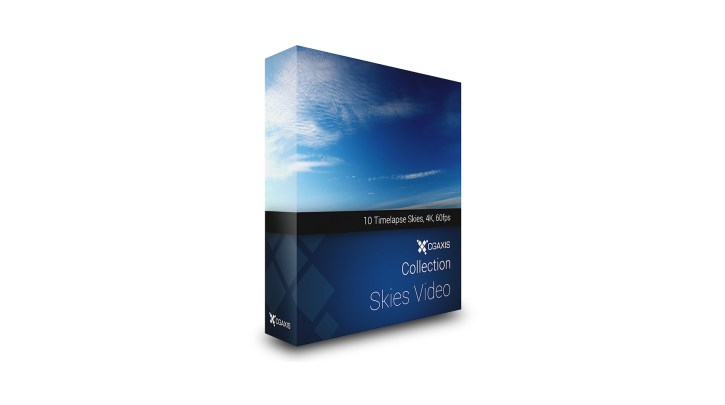 CGAxis - Skies Video Collection Volume 1