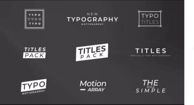 Typography Simple Style