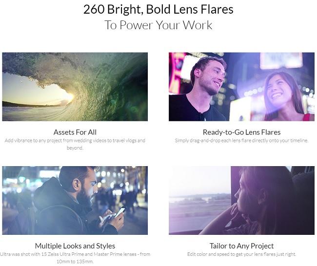 Rocketstock – Lucent Ultra Video Lens Flares 4k