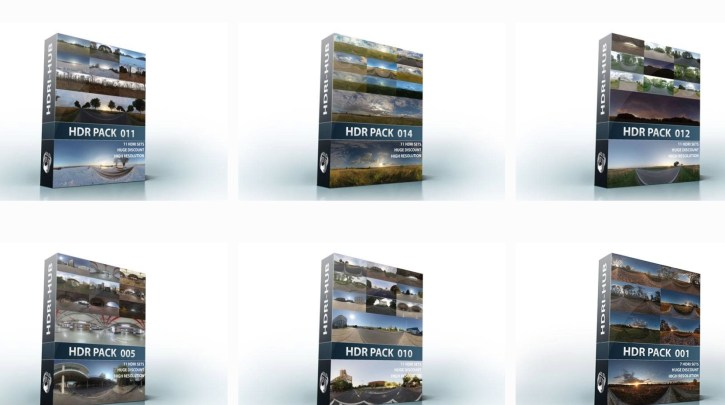 Hdri Hub – HDR Full Pack