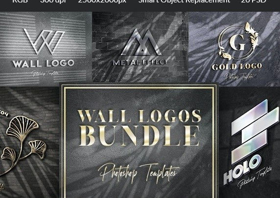Wall Sign Mockups Bundle
