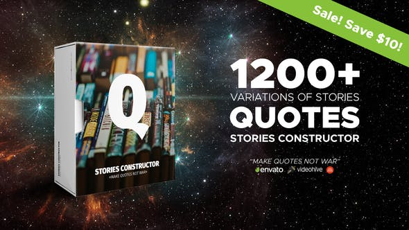 Stories Constructor – Quotes