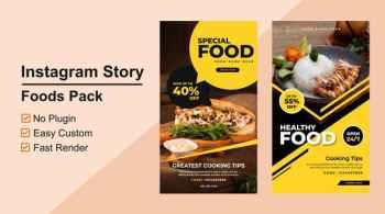 Foods Instagram Stories V04