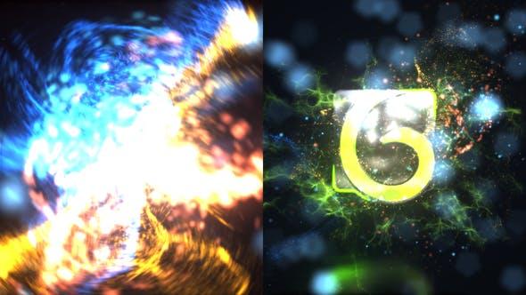 Particles Blast Logo Reveal