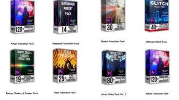 AKV Studios – Transition Preset Pack Bundle for Premiere Pro