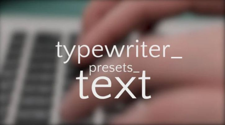 MotionArray TEXT Effects Collection For After Effect & Premiere Pro