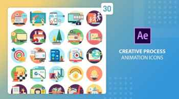 Creative Process Animation Icons | After Effects 27541664