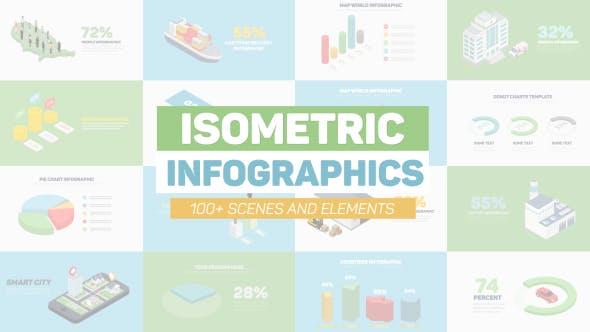 Isometric Infographics