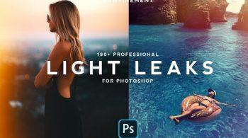 190+ Retro Analog Light Leaks Bundle