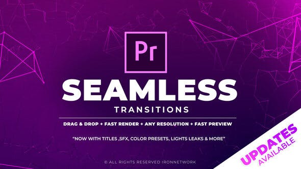 700+ Pack: Transitions, Light Leaks, Color Presets, Sound FX