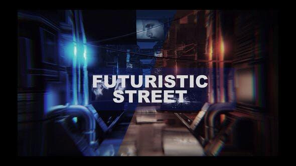 4k Futuristic Thechnology Street Opener