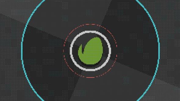 8 Bit Logo Opener Intro