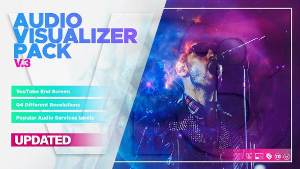 Audio Visualizer Pack