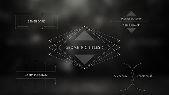 Geometric Titles 2