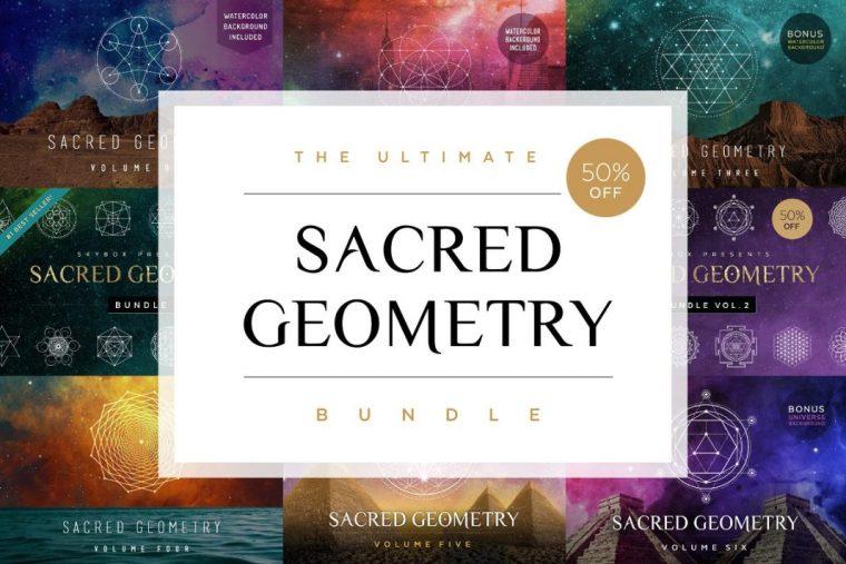 CreativeMarket Ultimate Sacred Geometry Bundle 1855071