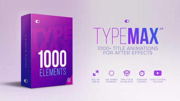 TypeMax Big Titles Pack
