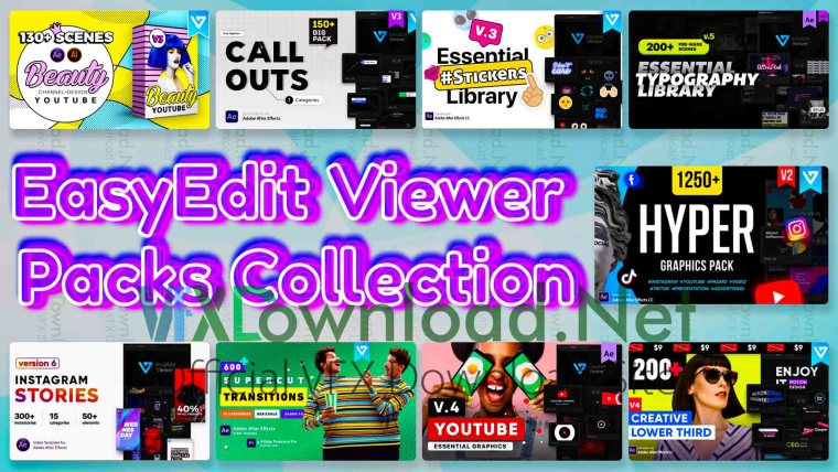 EasyEdit Viewer Packs Collection 2020 Updates