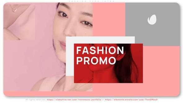 Fashion Typo Intro