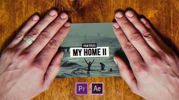 Film Titles Slideshow   My Home II