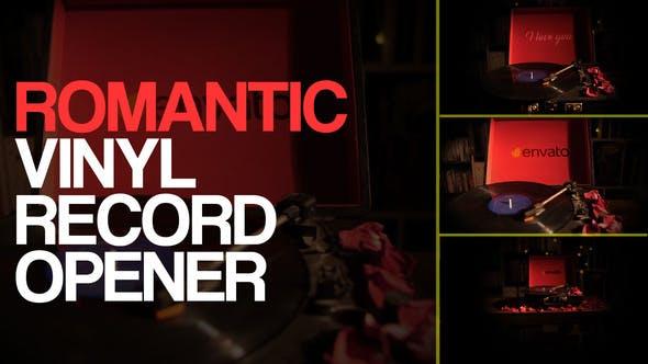 Romantic Vinyl Record Openers