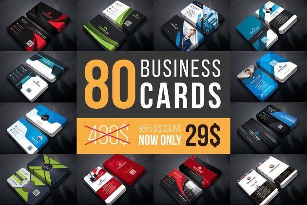 Business Cards Mega Bundle By Curve Design