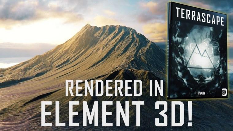 Terrascape – Landscapes for Element 3D