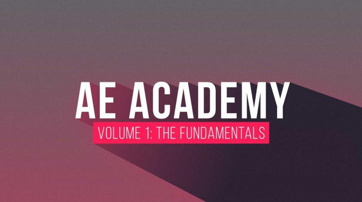 Motionscience - AE Academy Volume 1 - The Fundamentals