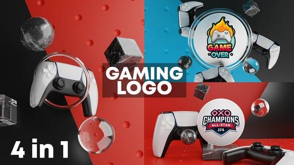 Gaming Logo Reveal 3D