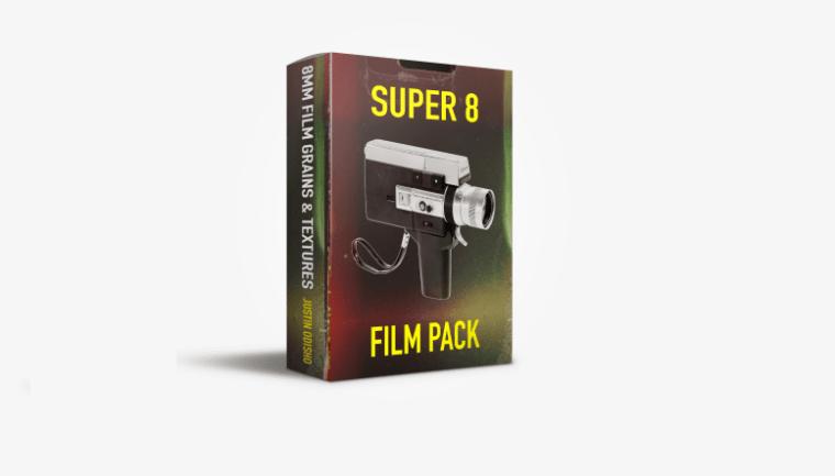 Justin Odisho Super 8 Film Overlays Pack