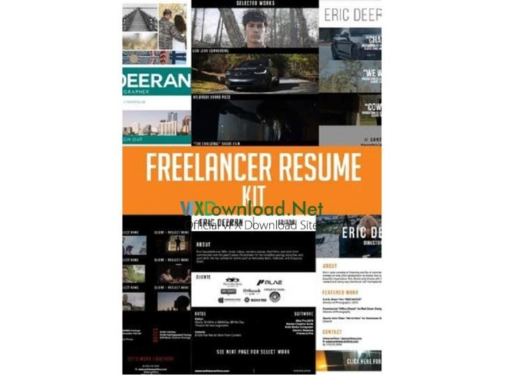Master Filmmaker - Freelancer's Resume Kit