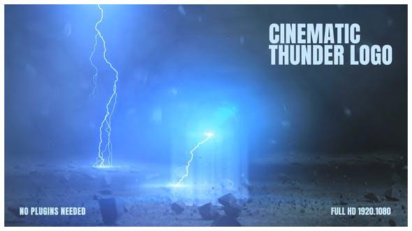 Cinematic Thunder Logo
