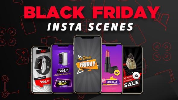 Black Friday Insta Scenes