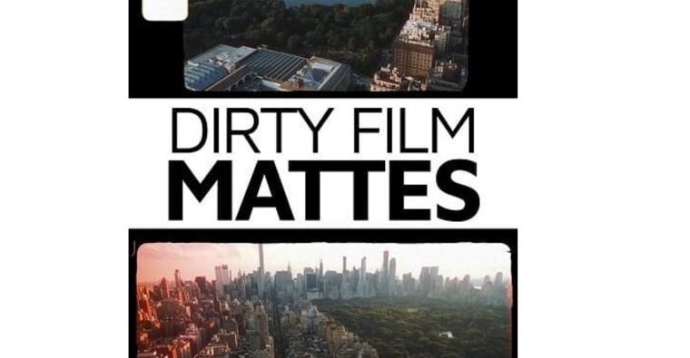 Master Filmmaker - Dirty Film Mattes PRO