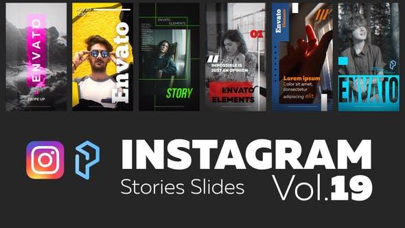 Instagram Stories Slides Vol. 19
