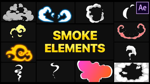 Smoke Elements | After Effects