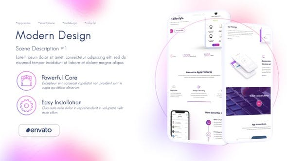 Colorful App Presentation