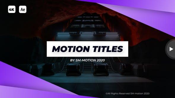 Modern Motion Titles