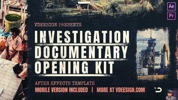 Investigation Documentary Opening Kit