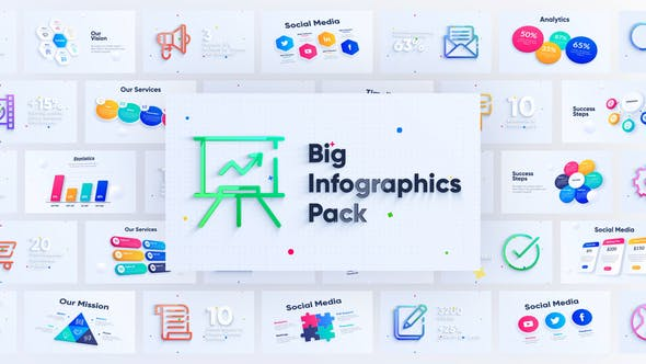 Corporate Infographics Charts Pack